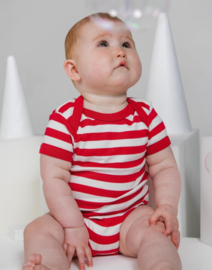 Babybugz Striped short sleeve Bodysuit