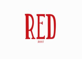 Siser flex Red 20 x 25 cm