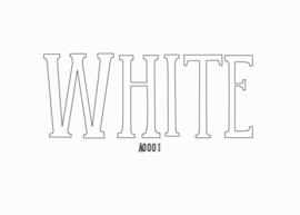 Siser flex White 20 x 100 cm