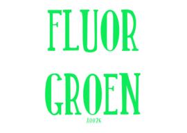 Fluor flexfolie Groen 20 x 25 cm