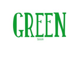 Flockfolie Green 20 x 25 cm