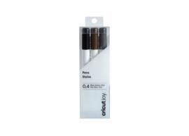 Cricut Joy Pens, black, brown grey