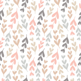 Vinyl Pretty Pastel Pattern Branches 1