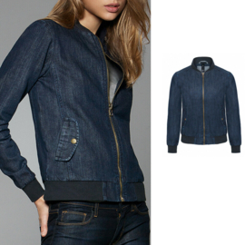 Bomberjack denim dames
