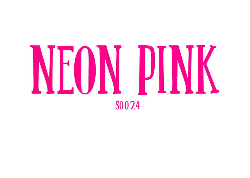 Flockfolie 50 x 100 cm Neon Pink