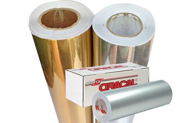 Oracal 351 metallic hoogglans goud
