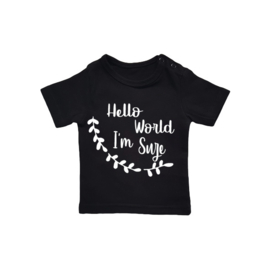 Naamshirt Hello World