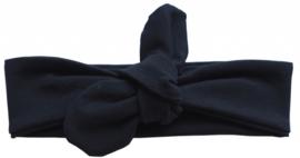 Haarband geknoopt zwart