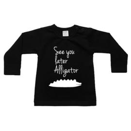 Shirt See you later alligator - maat 56 nog 1