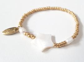 Armbandje goud ster