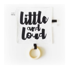 Labeldoekje Little & Loud