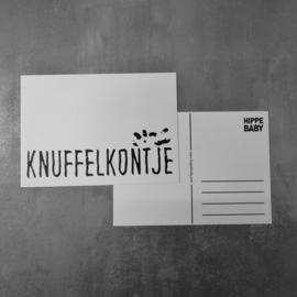 Postkaart Knuffelkontje