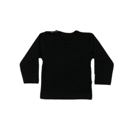 Basic Shirt Zwart (nog 92 en 110)