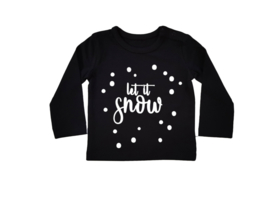 Baby/Kids Shirt Let It Snow