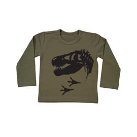 Shirt T-Rex skelleton