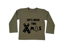 Baby/Kids Shirt Let ROCK this XMAS