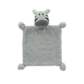 Knuffeldoekje Hippo Grey