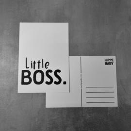 Postkaart Little boss