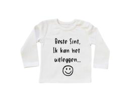 Baby/Kids Shirt Beste Sint