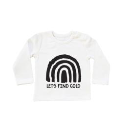 Regenboog Shirt - Finding Gold