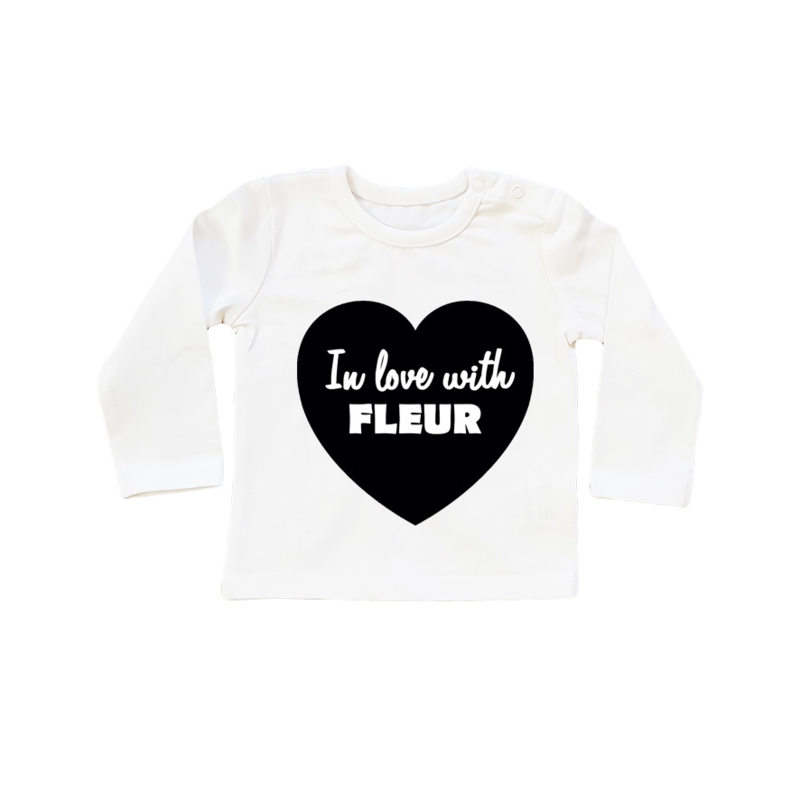 Naamshirt in Love with