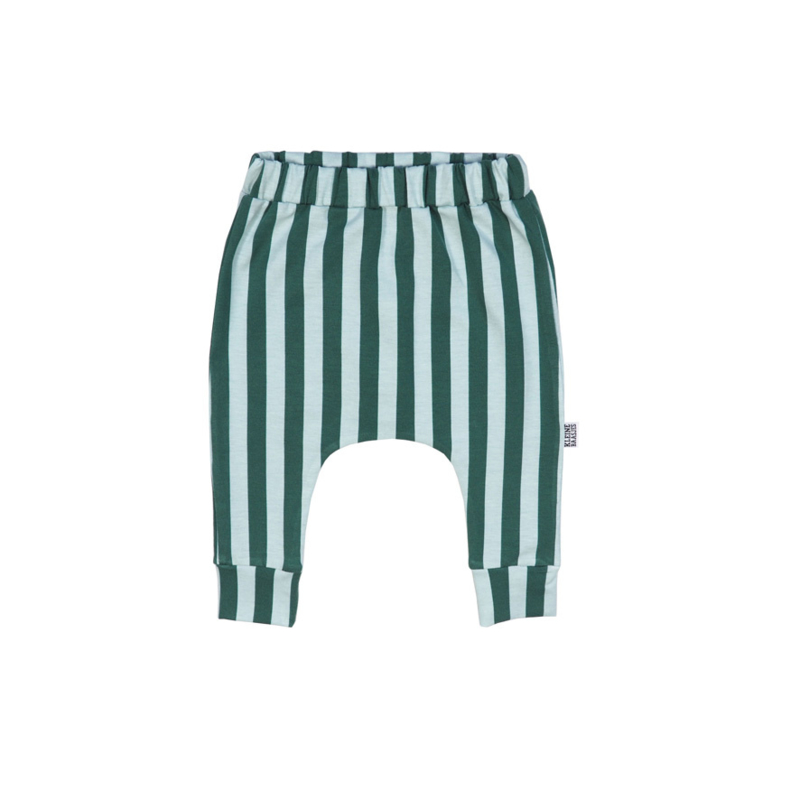 Harem Pants Green Vertical (maat 56 )