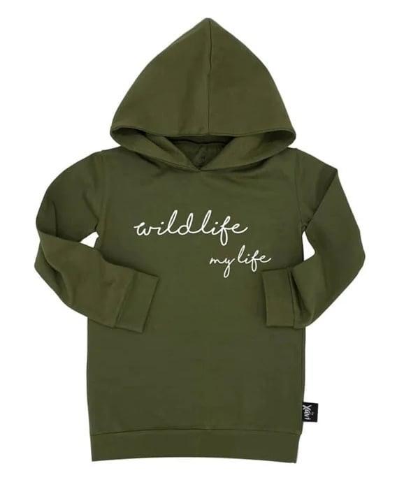 Sweater Wildlife - maat 50/56