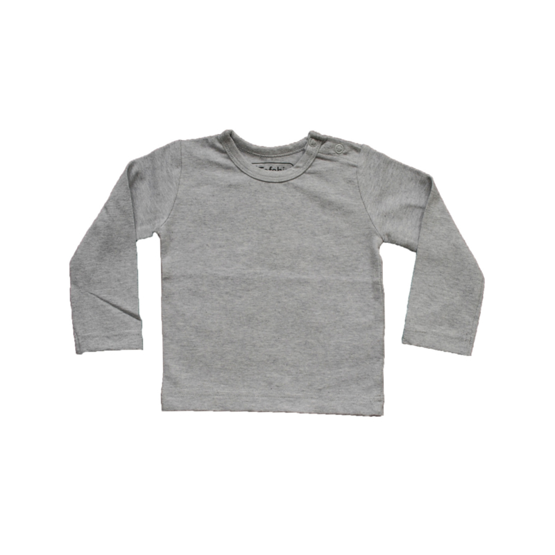 Basic Shirt Grijs