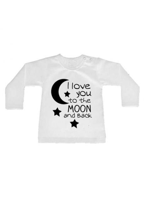Shirt To the moon and back