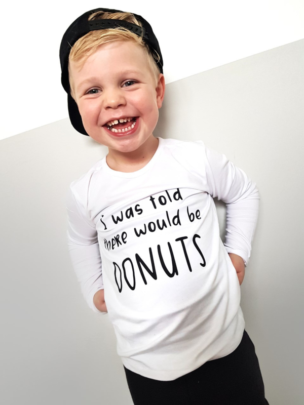 I was told there would be DONUTS