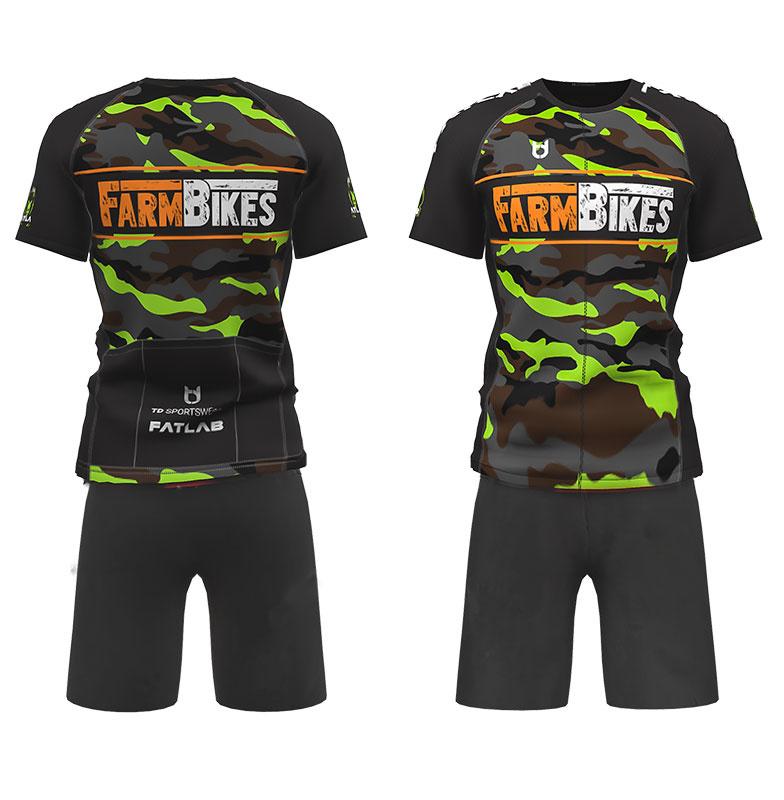 FATLab MTB: mountainbikeshirt + baggy broek
