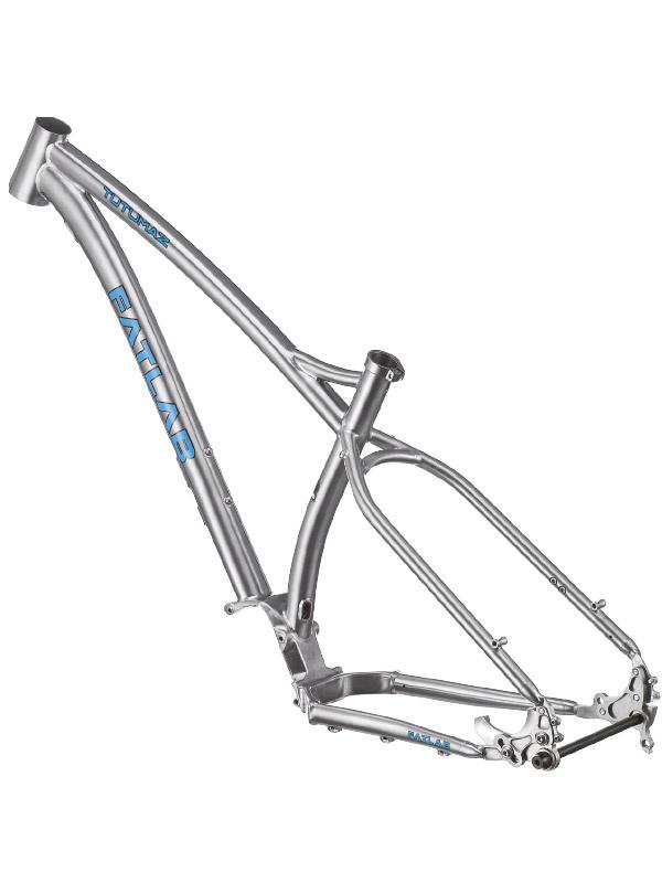 FATlab Thar Titanium frame/vork