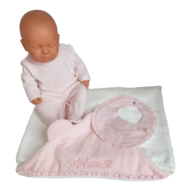 Pyjama velours teddy