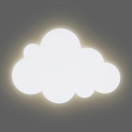 Led-wandlamp met naam (wit/munt)