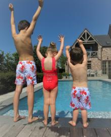 Zwemshort met naam (3 - 13 jaar)