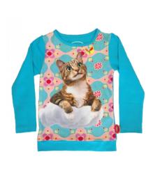 T-SHIRT CAT ON CLOUD