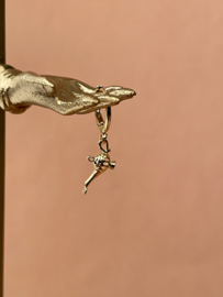 MAGIC LAMP GOLD PLATED EARRING