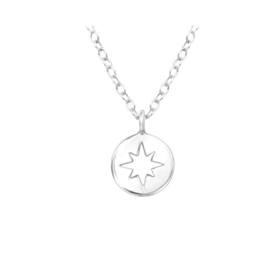 NORTH STAR STERLING ZILVER KETTING