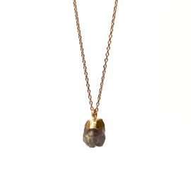 ROCKY LOLITE GOLD PLATED NECKLACE