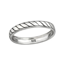 PLAIN RING STERLING ZILVER 19.75