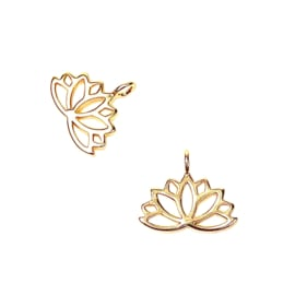 LOTUS BEDEL GOLD PLATED