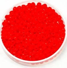 MIYUKI ROCAILLES, 3 MM KRALEN, VERMILION RED 407