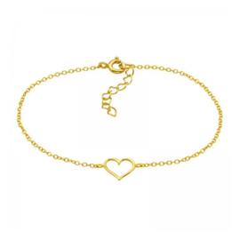 HEART GOLD VERMEIL ARMBAND