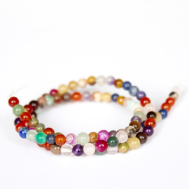 EDELSTENEN MIX 4MM
