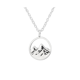 MOUNTAINS STERLING ZILVER KETTING