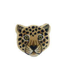 LOONEY LEOPARD HEAD VLOERKLEED / DOING GOODS