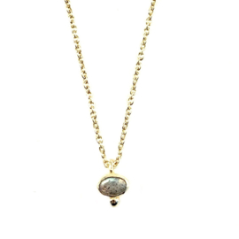 OVAL DOT GOLD VERMEIL KETTING / MUJA JUMA