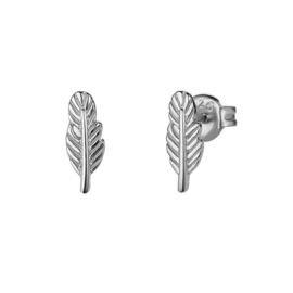 FEATHERS STERLING SILVER STUDS