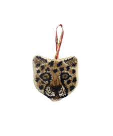 LOONEY LEOPARD HANGER / DOING GOODS