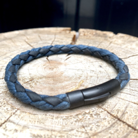 MENS BRACELET LOS LANCES NAVY/ BLACK
